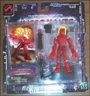 Micronauts (Series 1) Membros (red)
