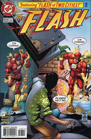 Flash (1987) 123-A by DC