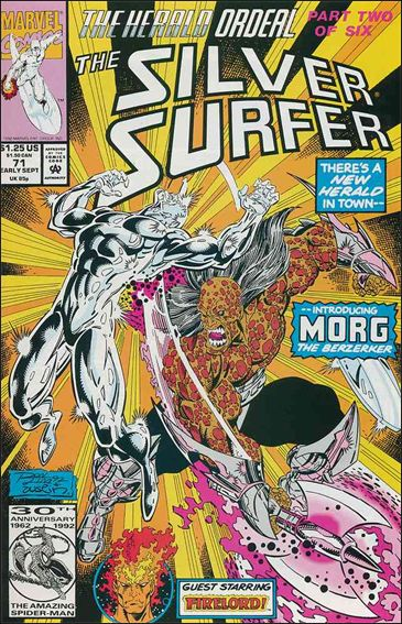 Silver Surfer (1987) 71-A by Marvel