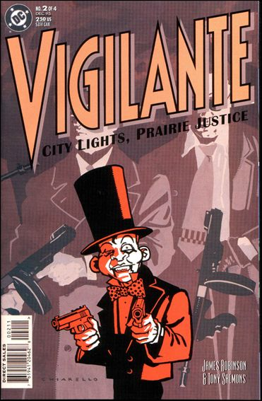 Vigilante: City Lights, Prairie Justice 2-A by DC