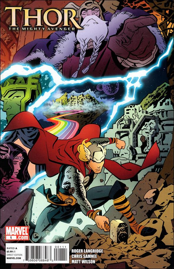 Thor The Mighty Avenger 1-A by Marvel