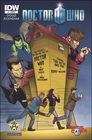 Doctor Who (2012) 1-E by IDW
