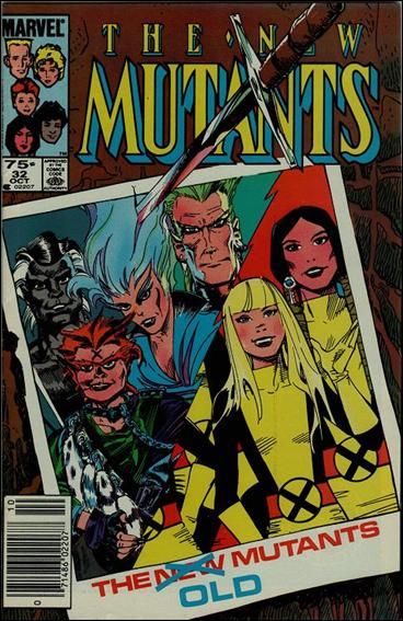 New Mutants (1983) 32-B by Marvel