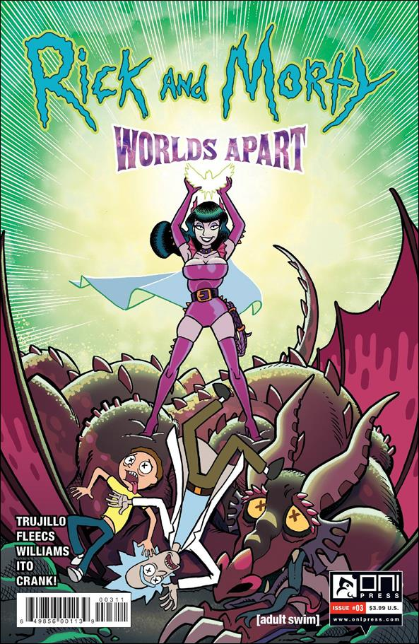 Rick and Morty: Worlds Apart 3-A by Oni Press