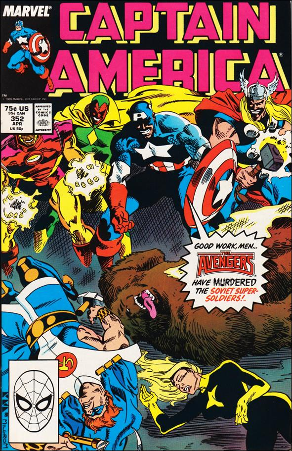 Captain America (1968) 352-A by Marvel