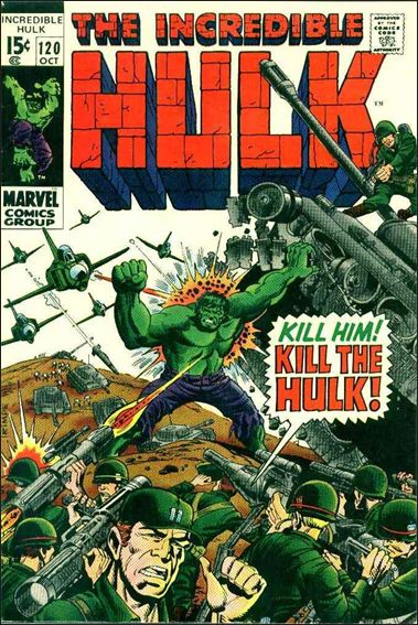 Incredible Hulk (1968) 120-A by Marvel