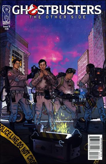 Ghostbusters: The Other Side 3-A by IDW