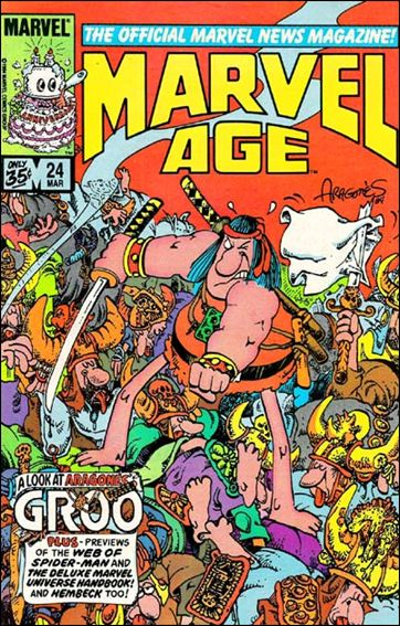 Marvel Age 24-A by Marvel