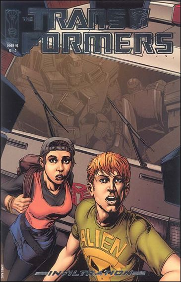 Transformers: Infiltration 1-E by IDW