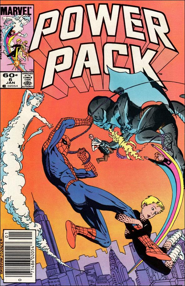 Power Pack (1984) 6-A by Marvel