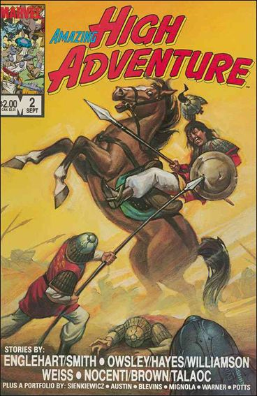 Amazing High Adventure 2-A by Marvel