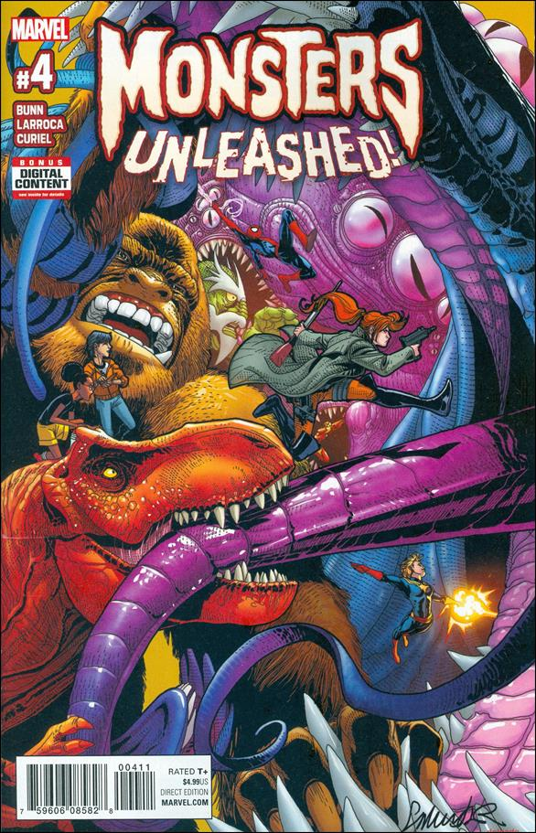 Monsters Unleashed (2017/03) 4-A by Marvel