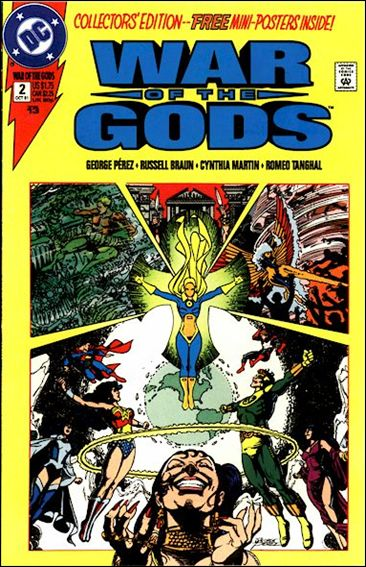 War of the Gods 2-B by DC