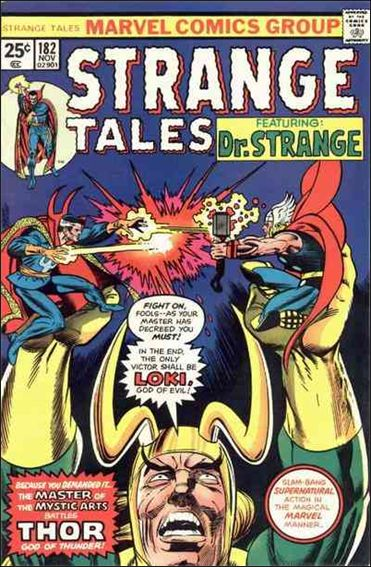 Strange Tales (1951) 182-A by Marvel