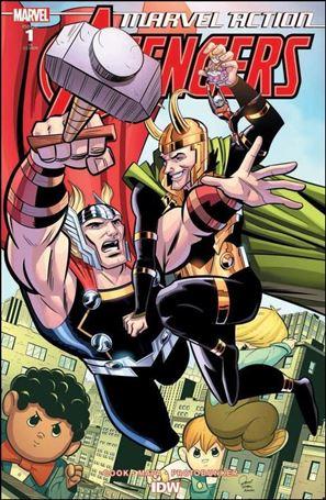 Marvel Action: Avengers (2020) 1-B
