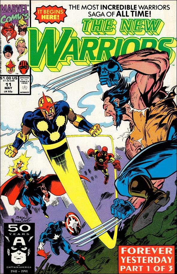 New Warriors (1990) 11-A by Marvel