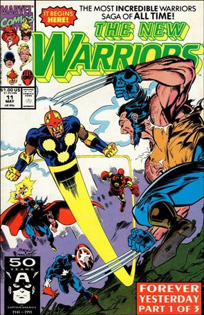 New Warriors (1990) 11-A