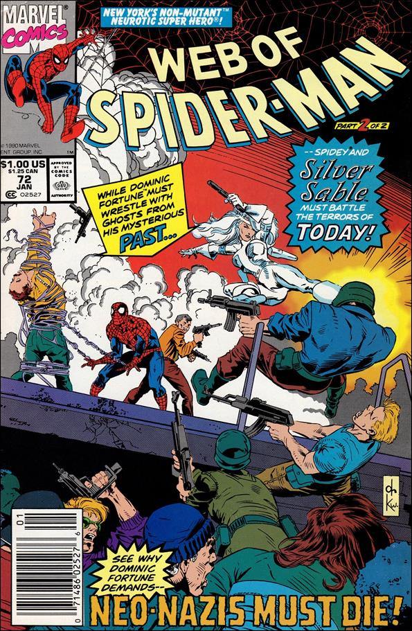 Web of Spider-Man (1985) 72-A by Marvel