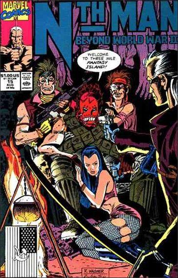 Nth Man Ultimate Ninja 15-A by Marvel