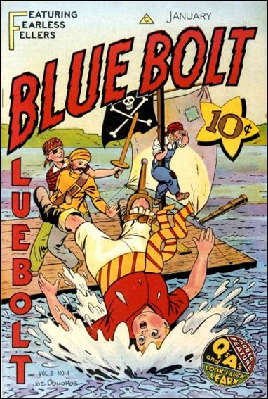 Blue Bolt (1944) 4-A by Novelty Press