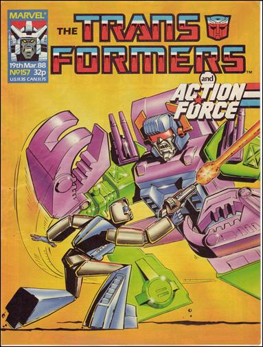 Transformers (UK) 157-A by Marvel UK
