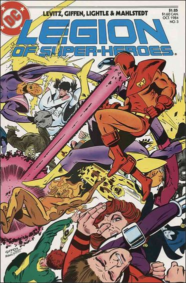 Legion of Super-Heroes (1984) 3-A by DC