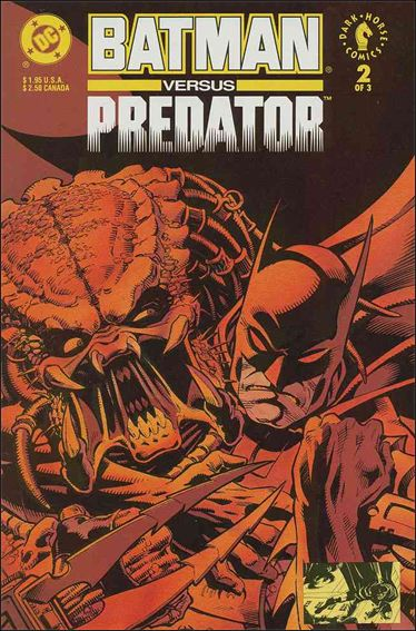 Batman Versus Predator 2-A by DC