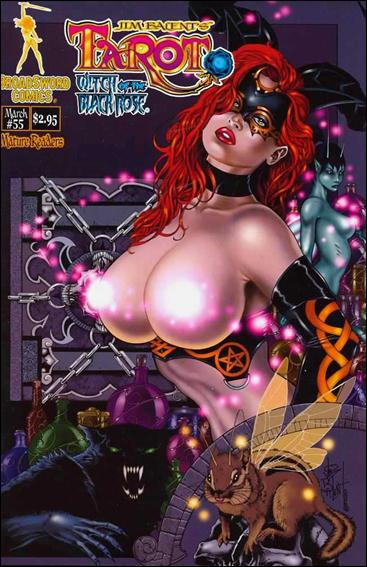 Tarot: Witch of the Black Rose 55-A by BroadSword Comics