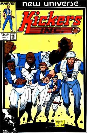 Kickers, Inc. 9-A by Marvel