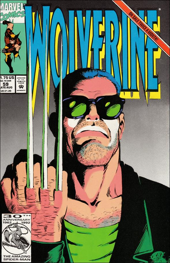 Wolverine (1988)  59-A by Marvel