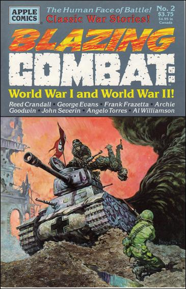 Blazing Combat: World War I and World War II 2-A by Apple