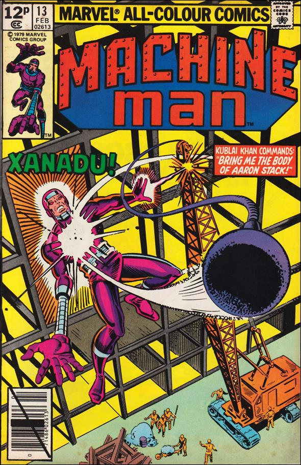 Machine Man (1978) 13-B by Marvel