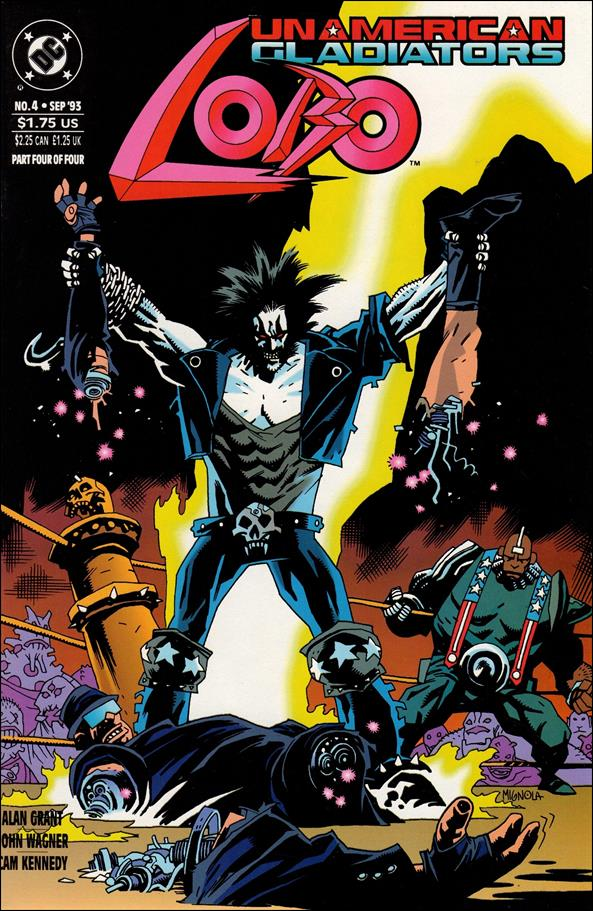 Lobo: Un-American Gladiators 4-A by DC
