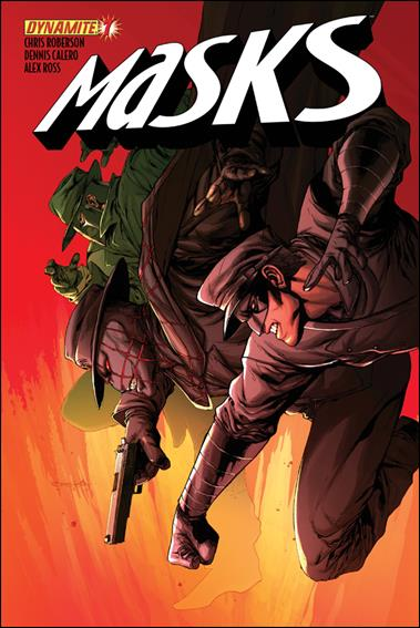Masks 7-D by Dynamite Entertainment