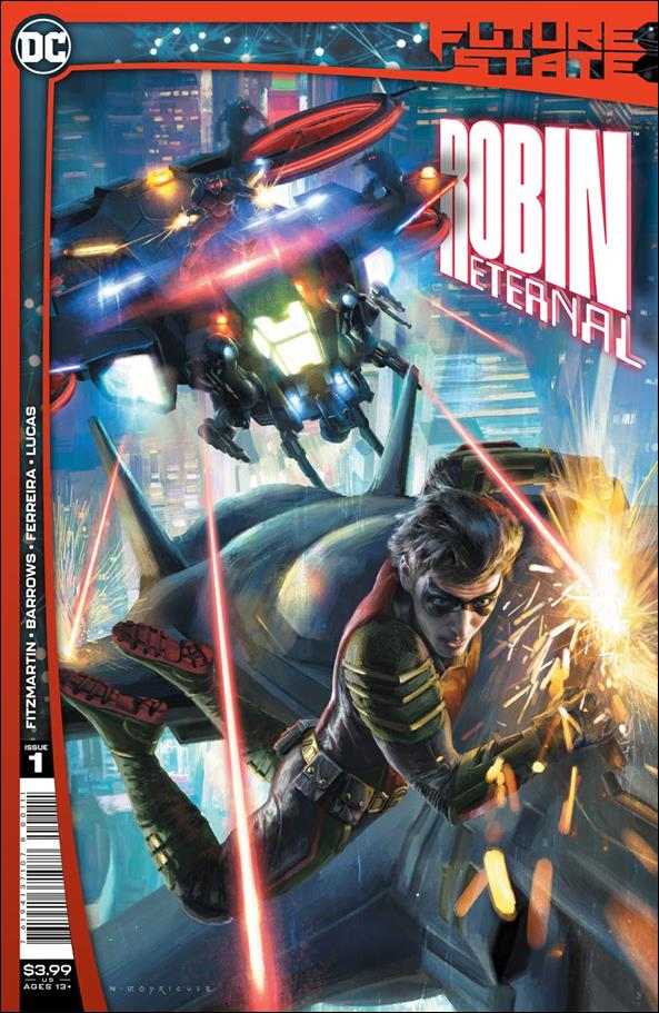 Future State: Robin Eternal 1-A by DC