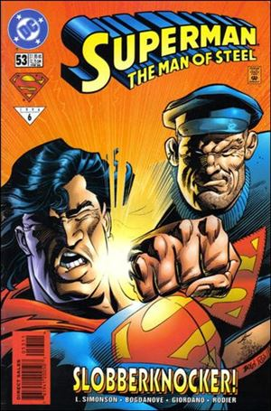 Superman: The Man of Steel 53-A