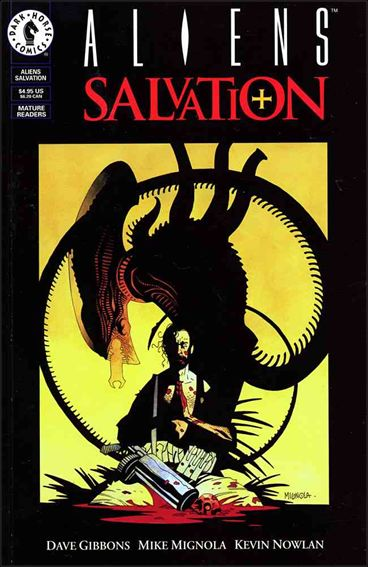 Aliens: Salvation 1-A by Dark Horse