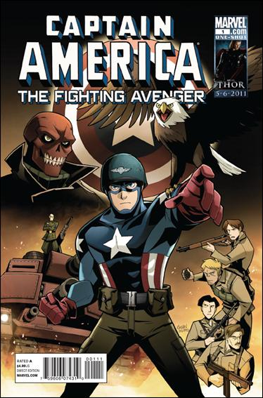 Captain America: Fighting Avenger 1-A by Marvel