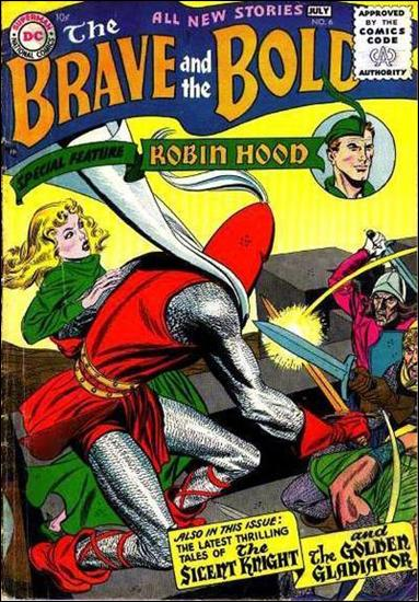 Brave and the Bold (1955) 6-A by DC