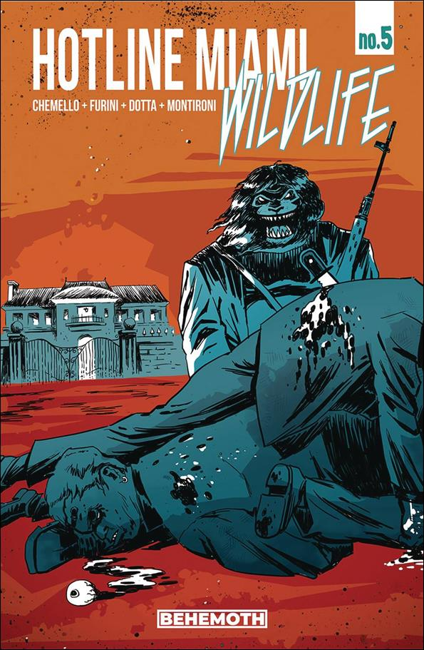 Hotline Miami: Wildlife 5-A by Behemoth Comics