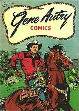 Gene Autry Comics (1946) 1-A by Dell