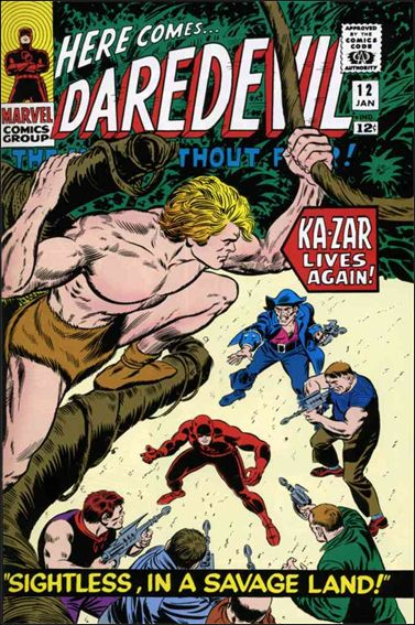 Daredevil (1964) 12-A by Marvel