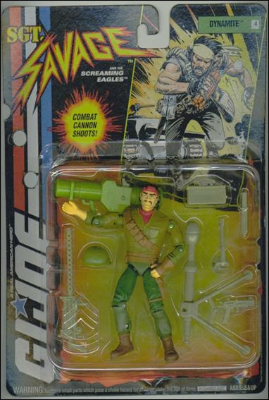 "G.I. Joe: Sgt Savage and the Screaming Eagles (4"") Dynamite by Hasbro"