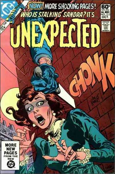 Unexpected (1968) 215-A by DC