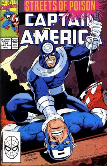 Captain America (1968) 374-A by Marvel