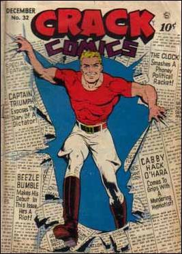 Crack Comics 32-A by Quality