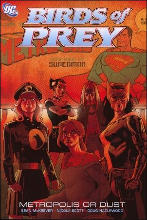 Birds of Prey 10-A by DC