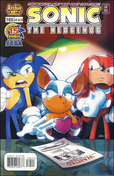 Sonic the Hedgehog (1993) 165-A by Archie