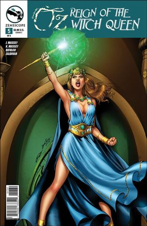 Grimm Fairy Tales Presents Oz: Reign of the Witch Queen 5-C