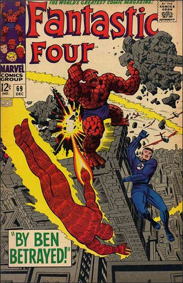 Fantastic Four (1961) 69-A by Marvel